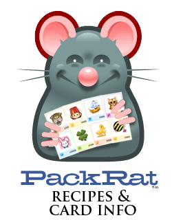 Packrat Recipes and Card Info Wiki